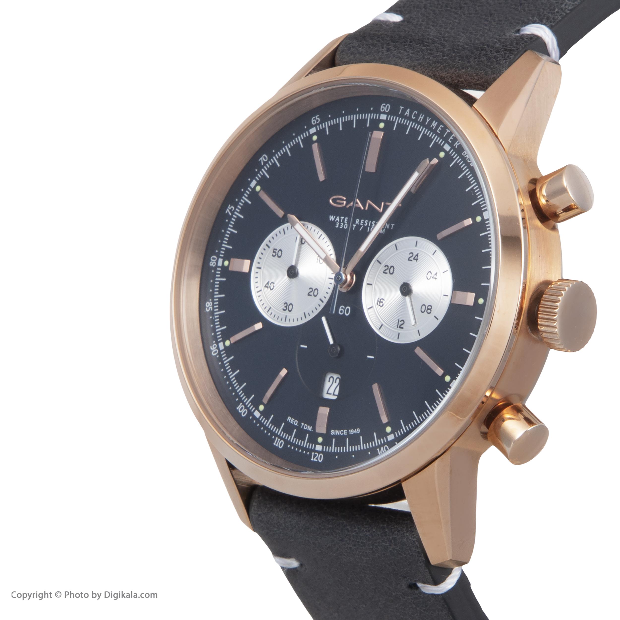 ساعت مچی عقربه ای مردانه گنت مدل GWW064004 -  - 5