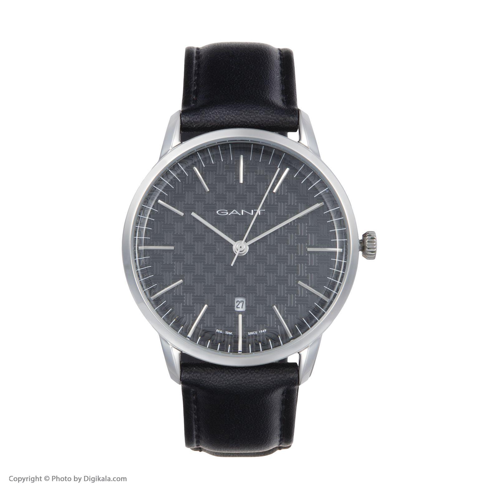 ساعت مچی عقربه ای مردانه گنت مدل GWW077001 -  - 3