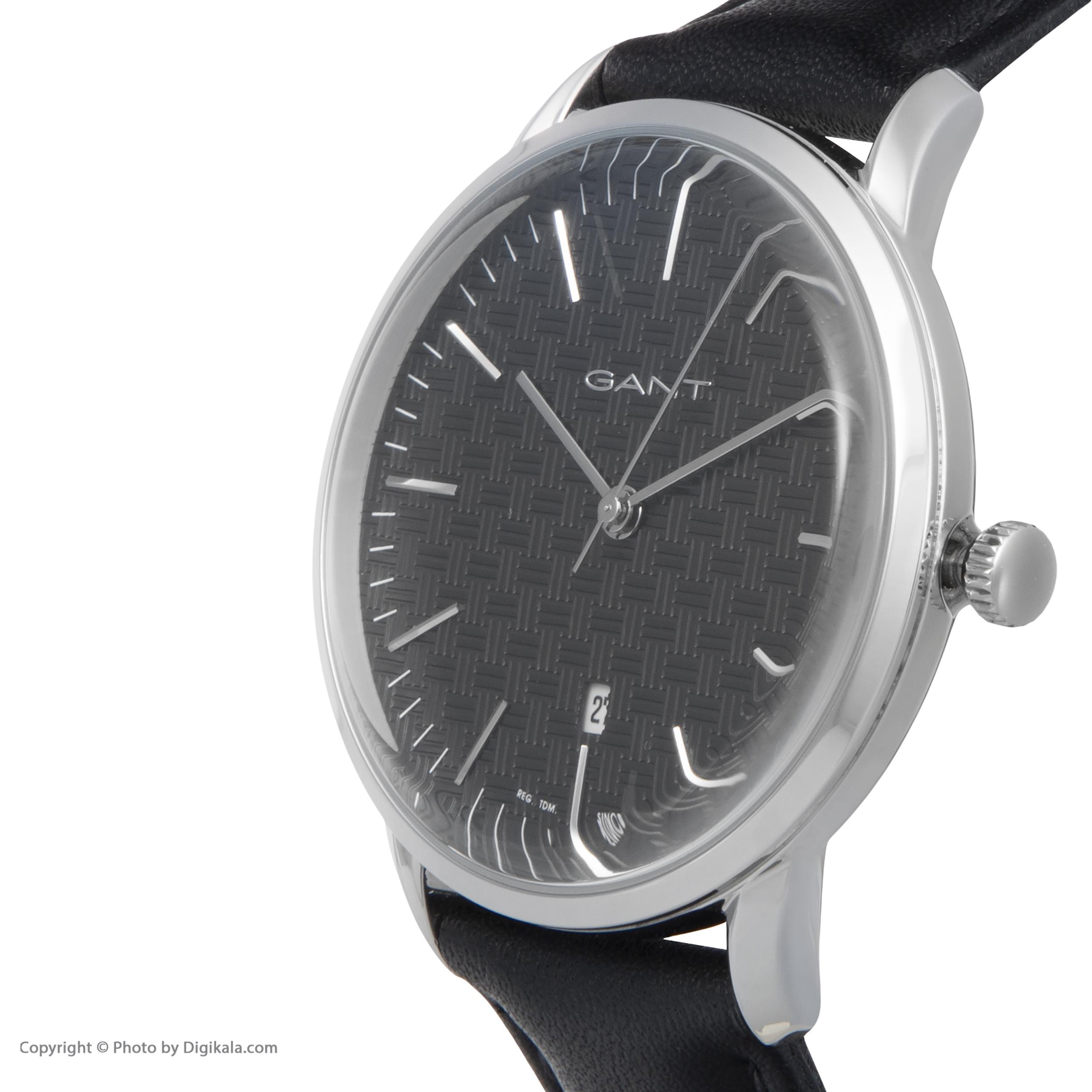 ساعت مچی عقربه ای مردانه گنت مدل GWW077001 -  - 5