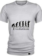 تیشرت مردانه 27 طرح تکامل کد K02 -  - 1