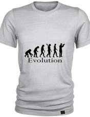 تیشرت مردانه 27 طرح تکامل کد K02 -  - 4