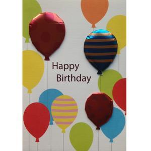 کارت پستال پاپیروس طرح بادکنک تولد کد 180