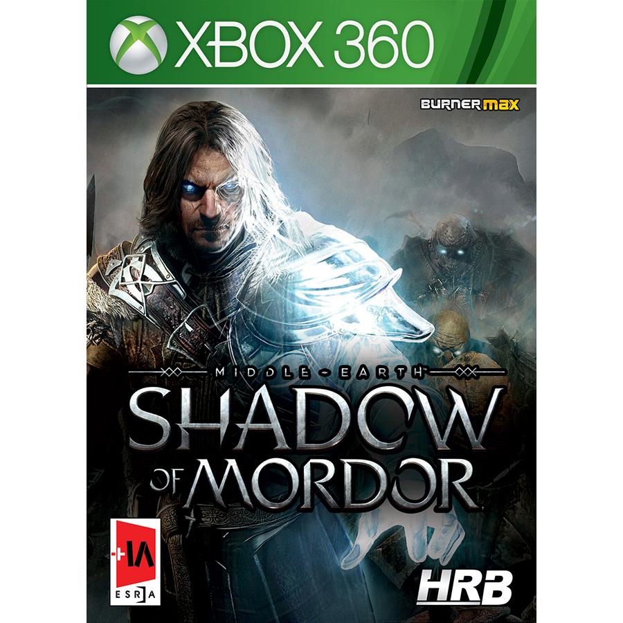 بازی Middle earth Shadow of Mordor مخصوص xbox 360