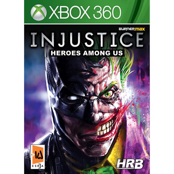 بازی Injustice-Heroes-Among-US مخصوص xbox 360