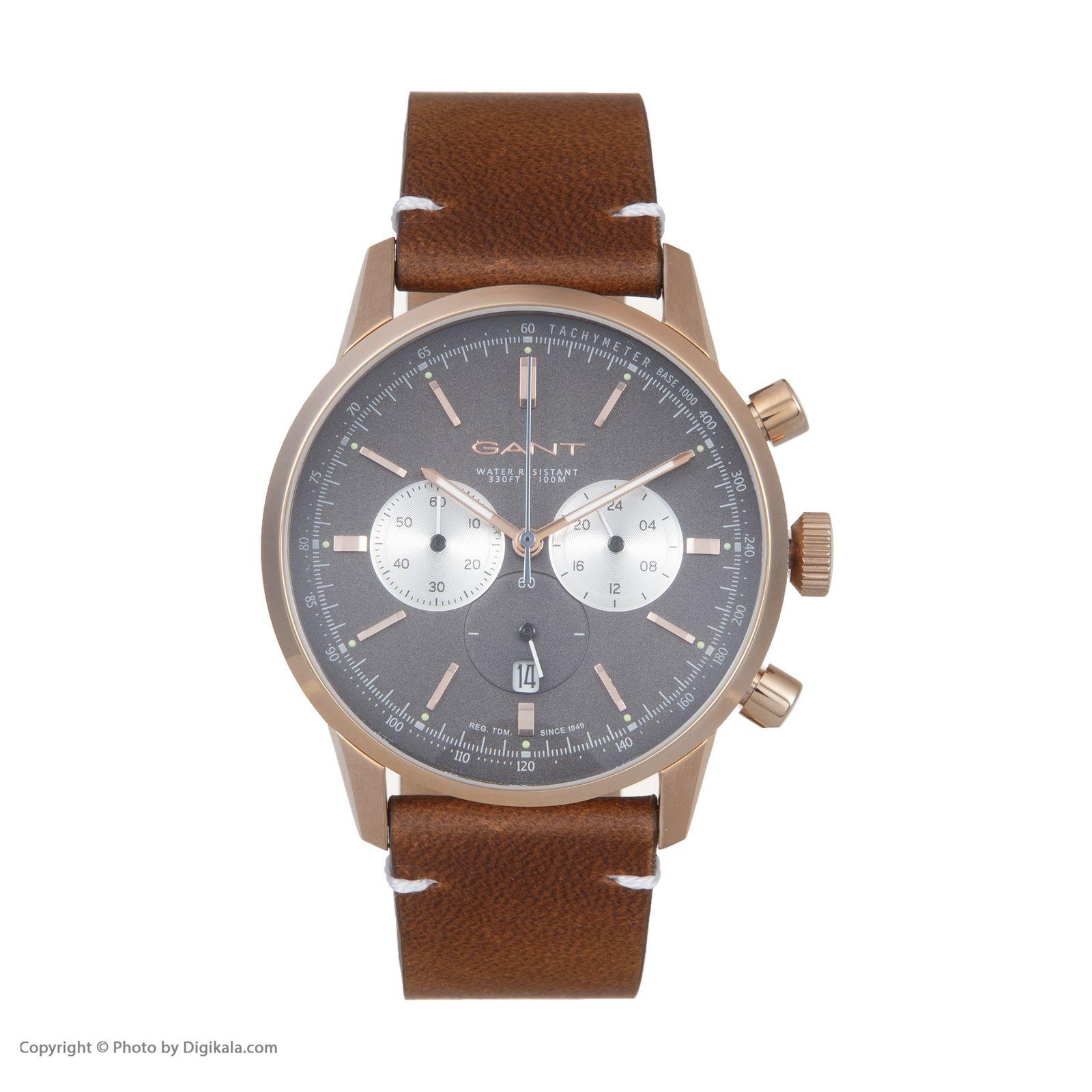 ساعت مچی عقربه ای مردانه گنت مدل GWW064005 -  - 3