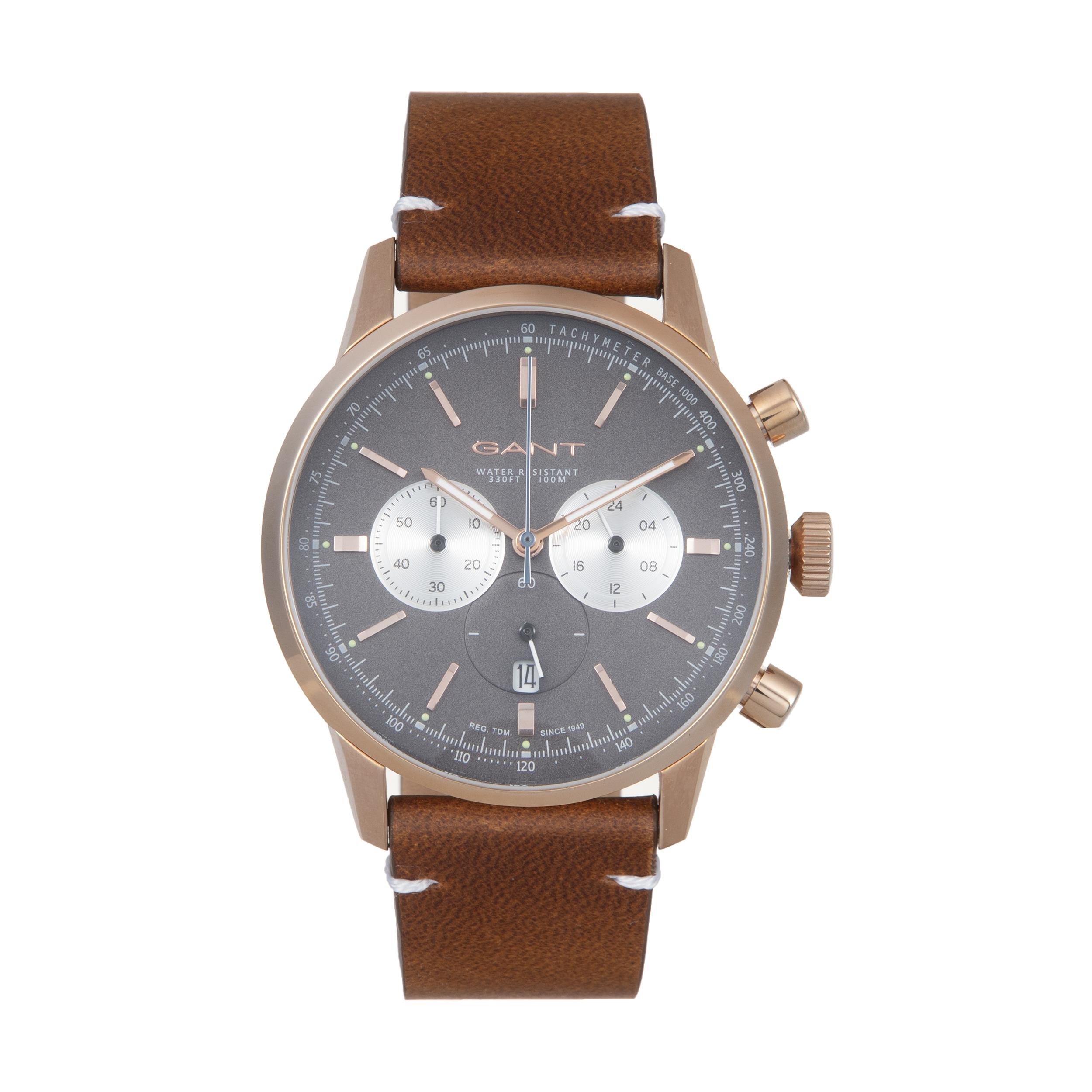 ساعت مچی عقربه ای مردانه گنت مدل GWW064005