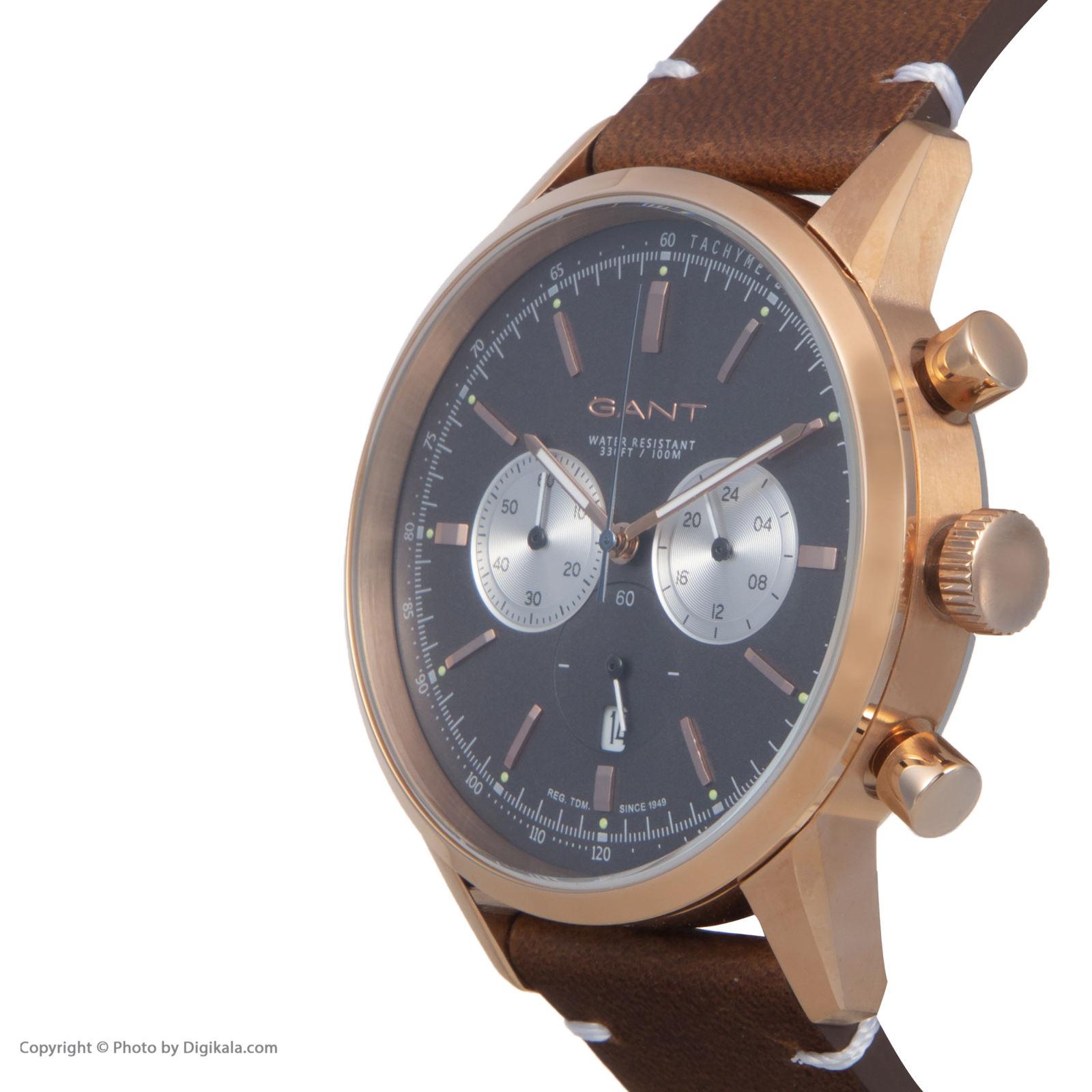 ساعت مچی عقربه ای مردانه گنت مدل GWW064005 -  - 5