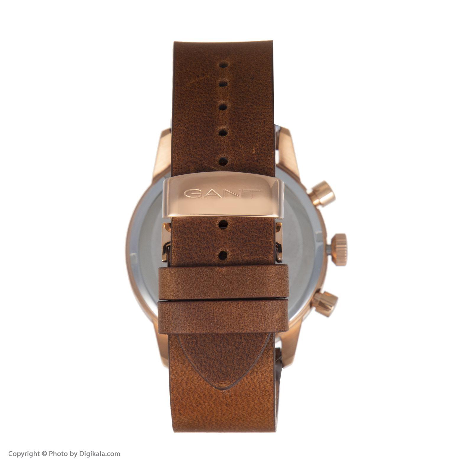 ساعت مچی عقربه ای مردانه گنت مدل GWW064005 -  - 4