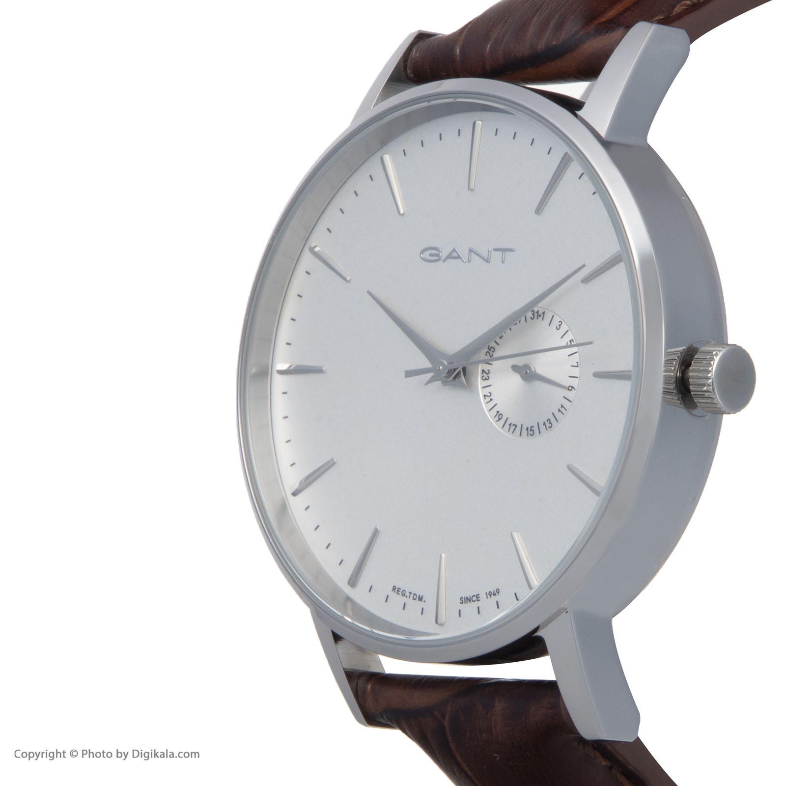 ساعت مچی عقربه ای مردانه گنت مدل GWW10842 -  - 5