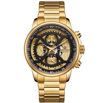 ساعت مچی عقربه ای مردانه نیوی فورس کد NF9150GG
