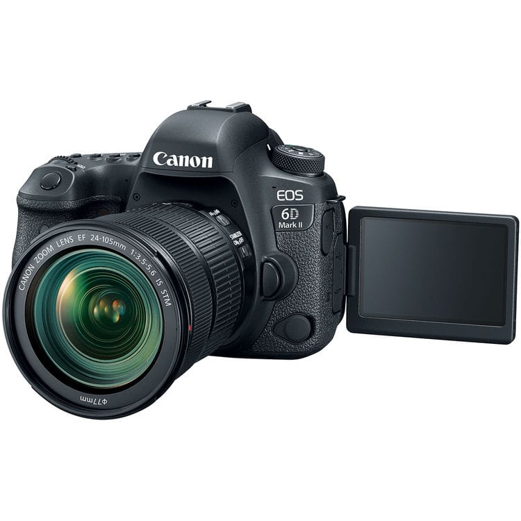 دوربین دیجیتال کانن مدل EOS 6D MARK II به همراه لنز 24-105 STM