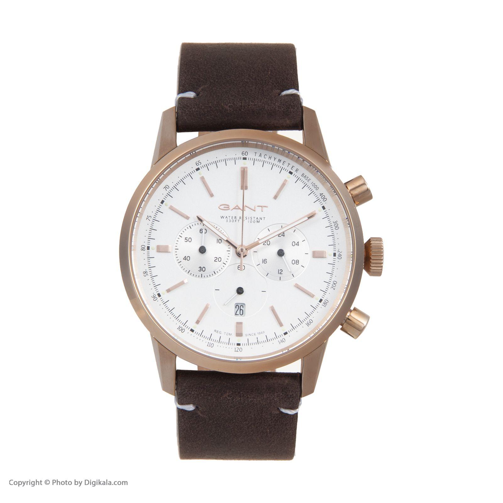 ساعت مچی عقربه ای مردانه گنت مدل GWW064003 -  - 3