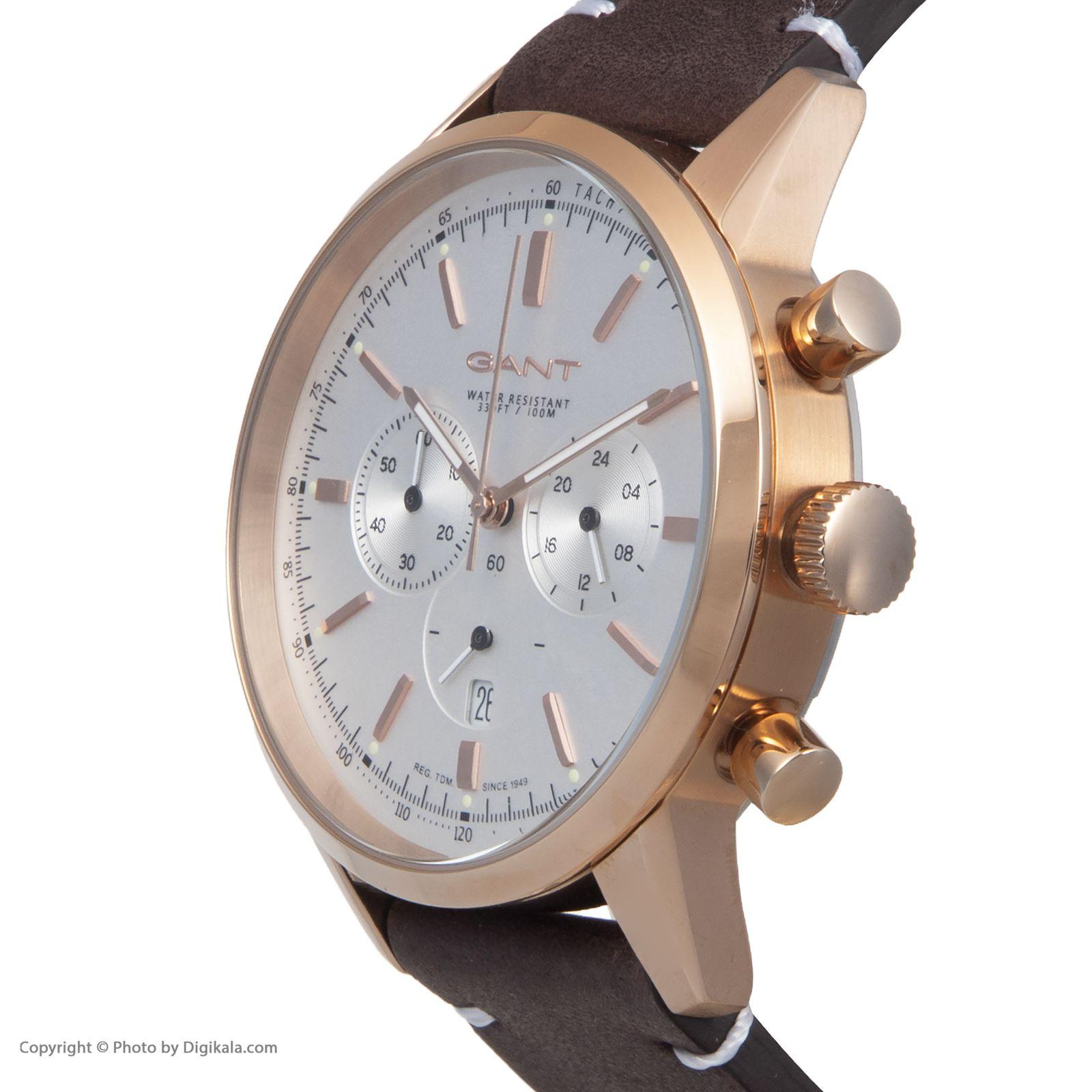 ساعت مچی عقربه ای مردانه گنت مدل GWW064003 -  - 5