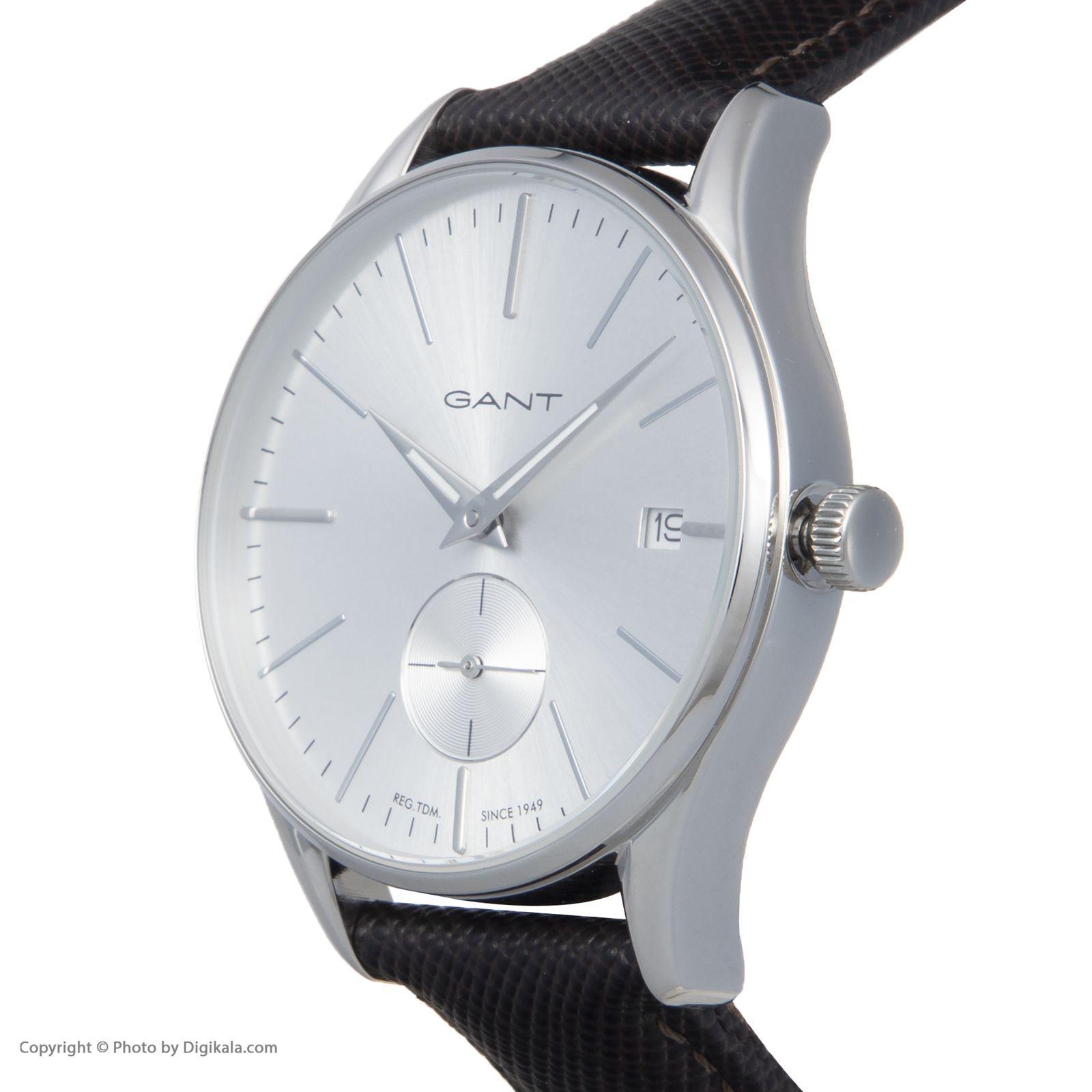 ساعت مچی عقربه ای زنانه گنت مدل GWW067003 -  - 5