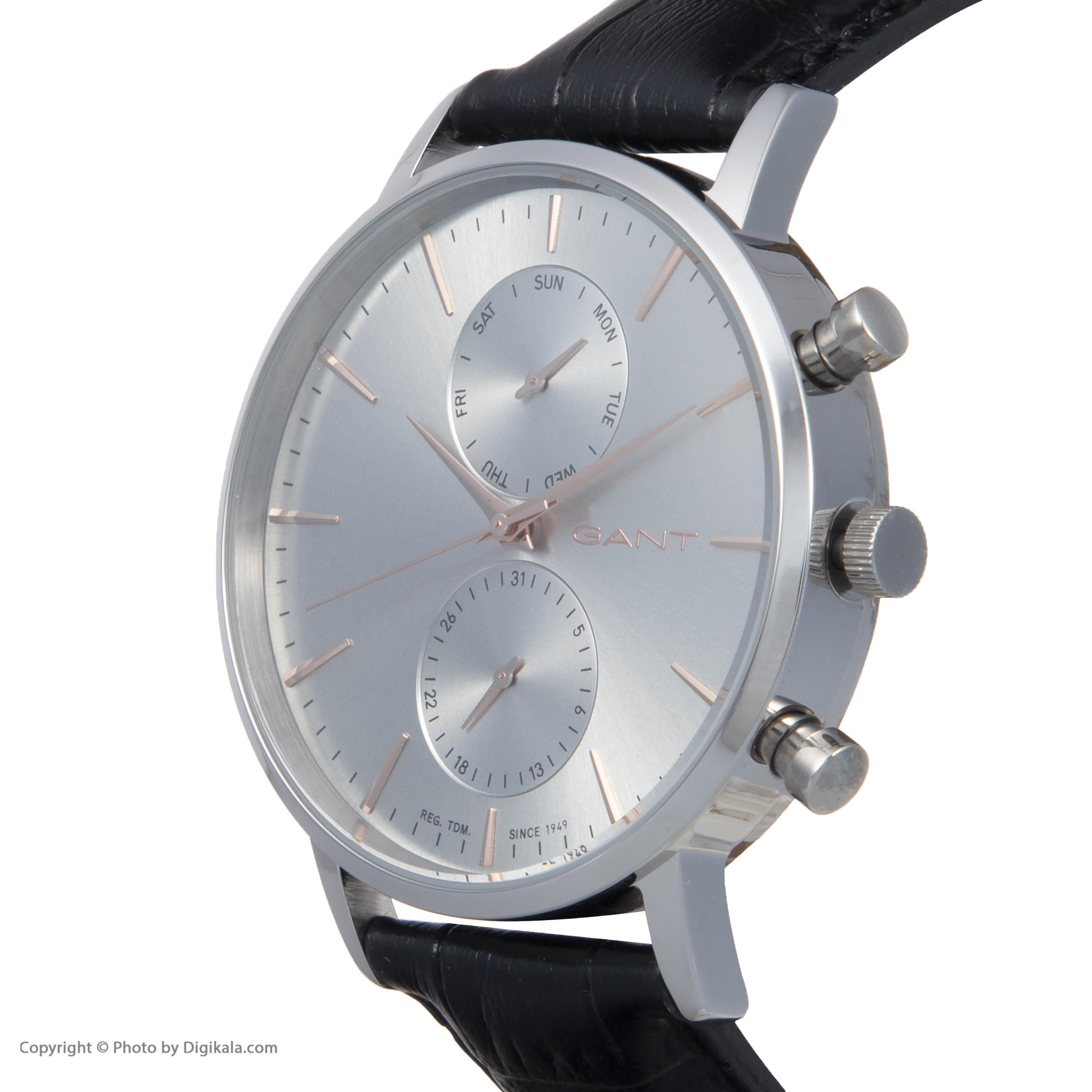 ساعت مچی عقربه ای مردانه گنت مدل GWW11209 -  - 5