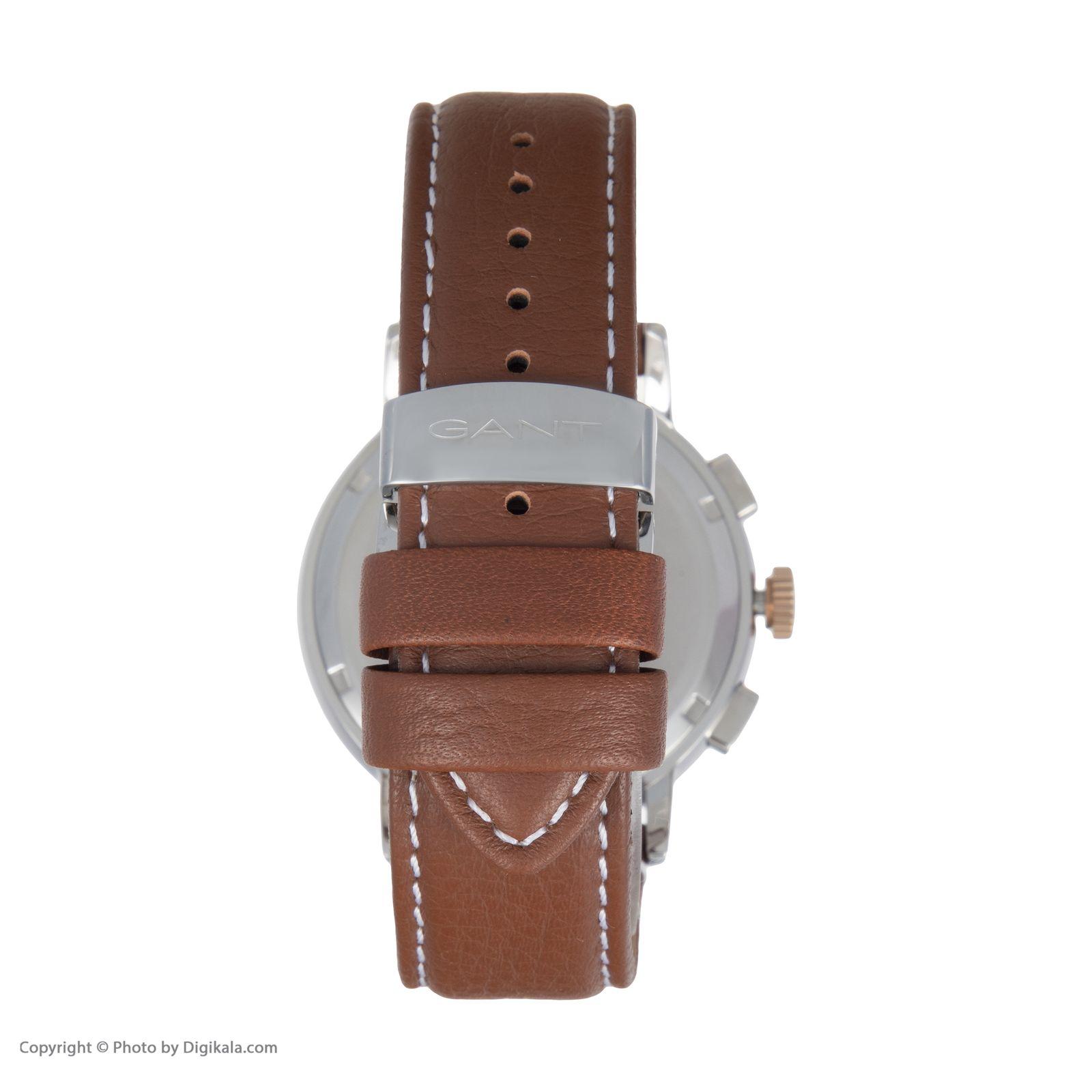 ساعت مچی عقربه ای مردانه گنت مدل GWW079006 -  - 5