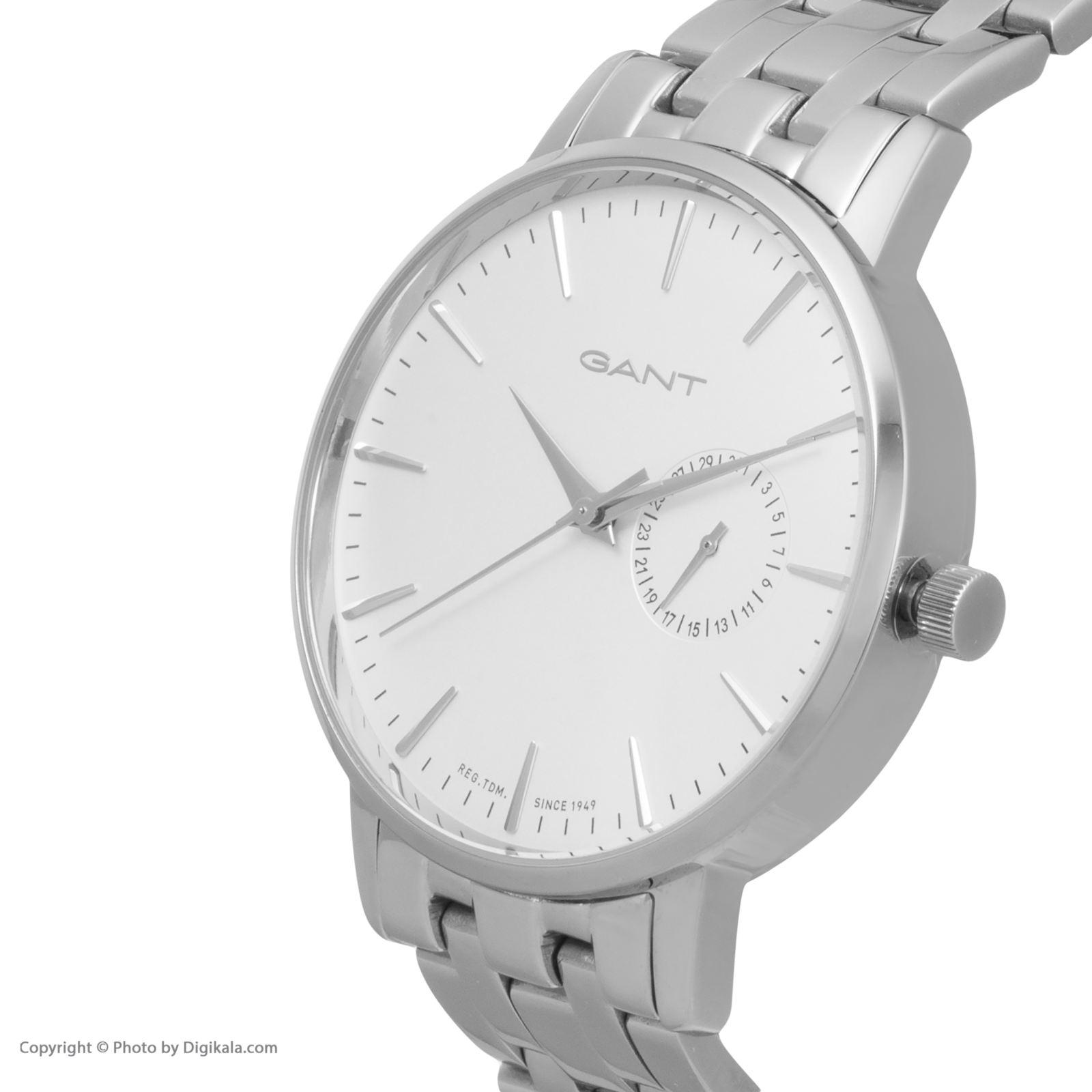 ساعت مچی عقربه ای مردانه گنت مدل GWW10922 -  - 4