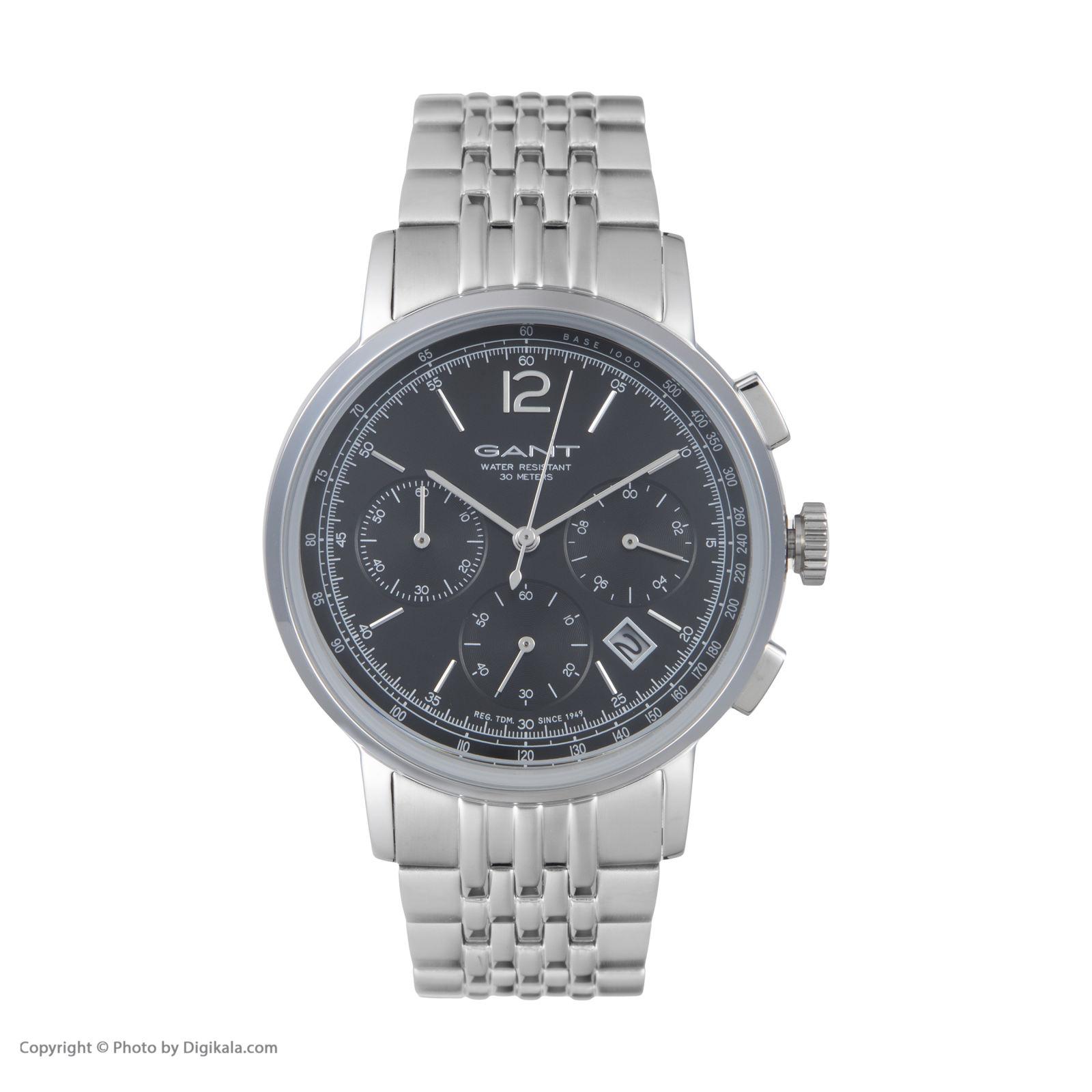 ساعت مچی عقربه ای مردانه گنت مدل GWW079004 -  - 3