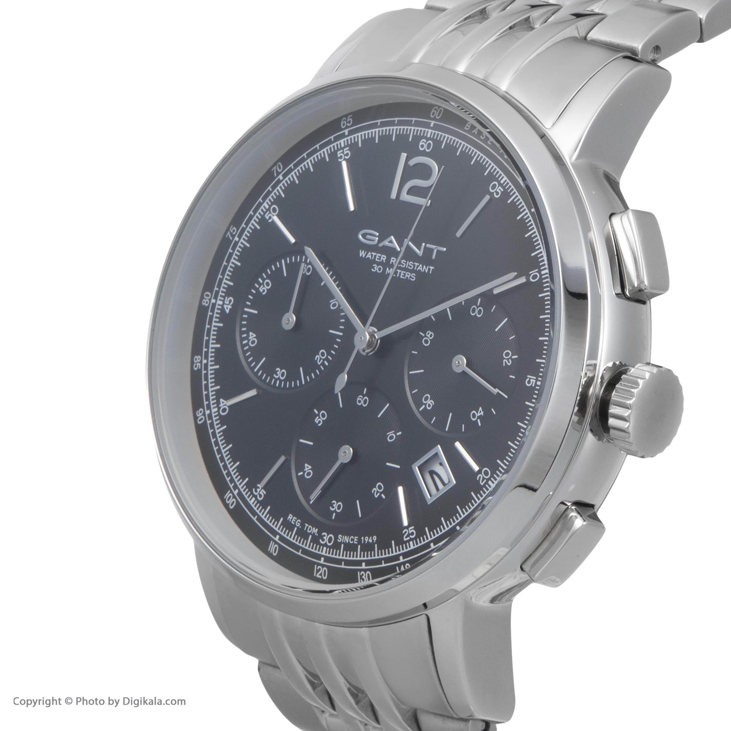 ساعت مچی عقربه ای مردانه گنت مدل GWW079004