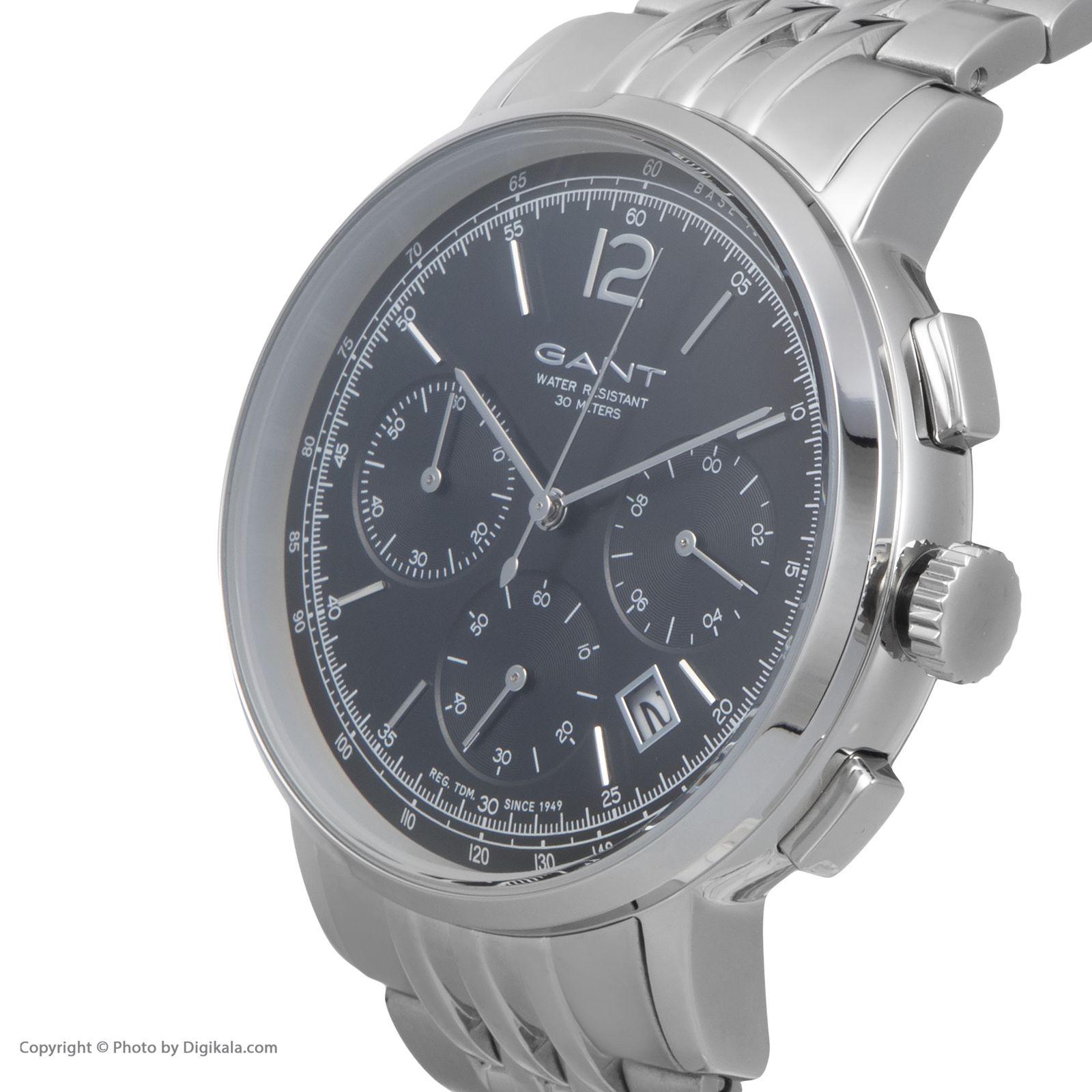 ساعت مچی عقربه ای مردانه گنت مدل GWW079004 -  - 4