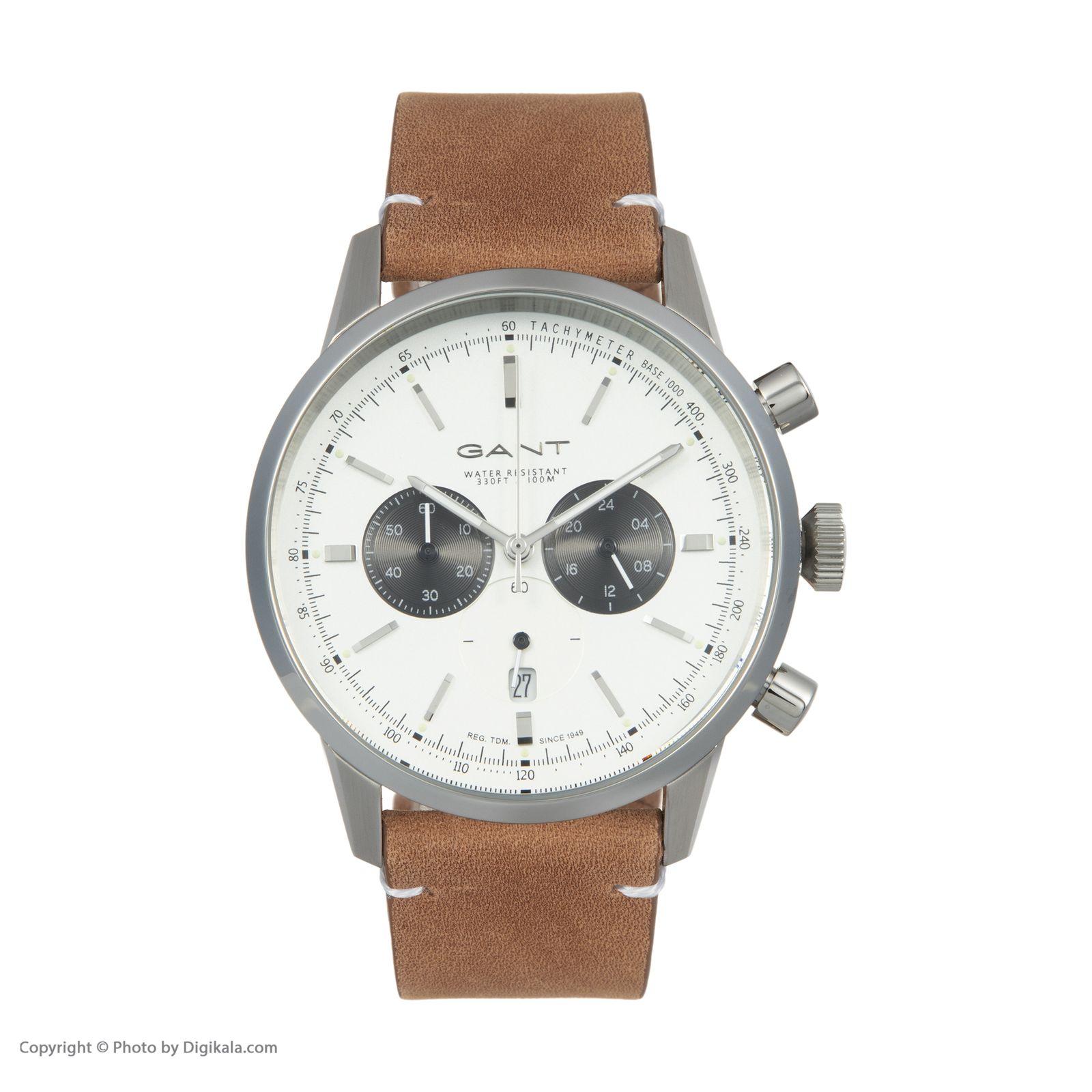 ساعت مچی عقربه ای مردانه گنت مدل GWW064001 -  - 3