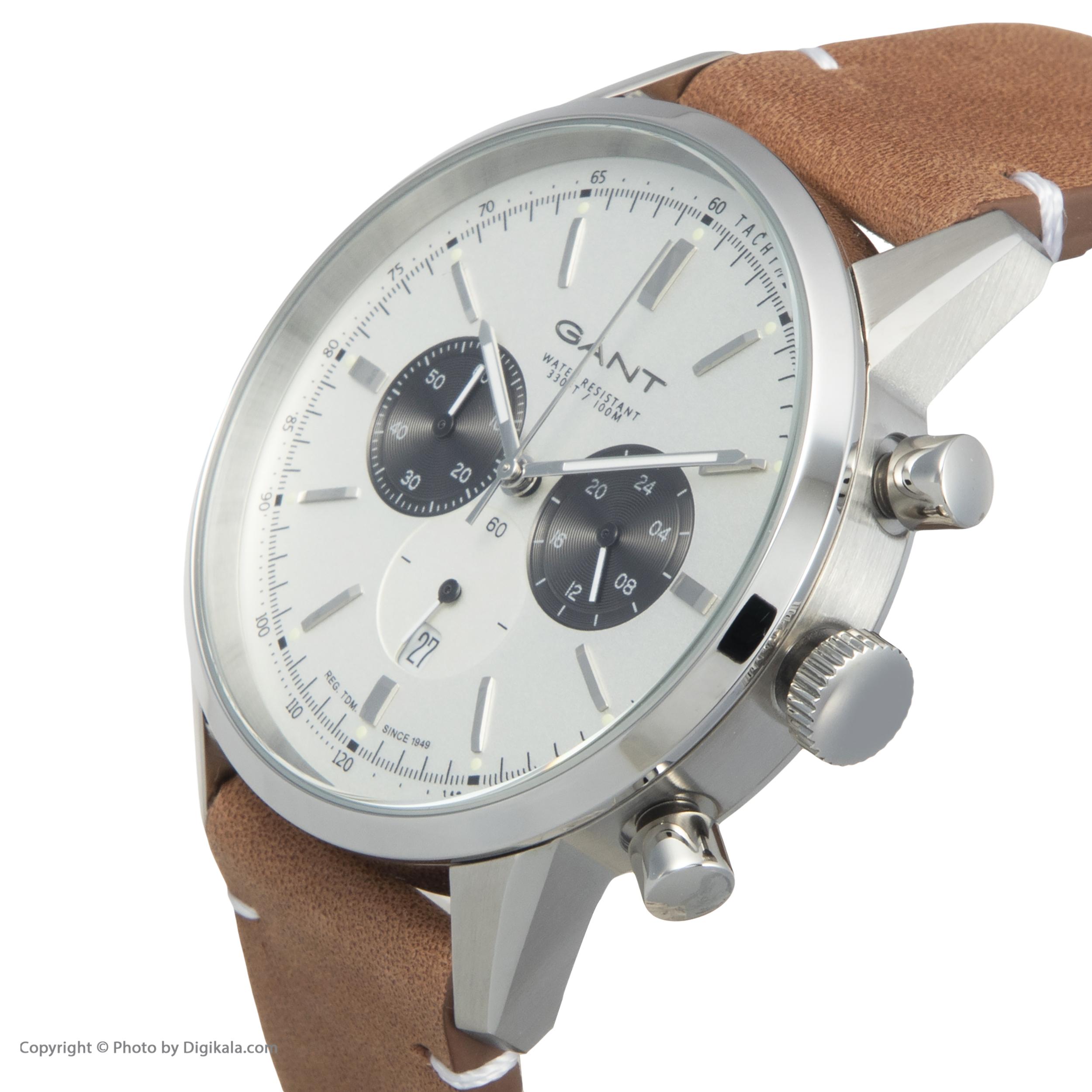 ساعت مچی عقربه ای مردانه گنت مدل GWW064001 -  - 5