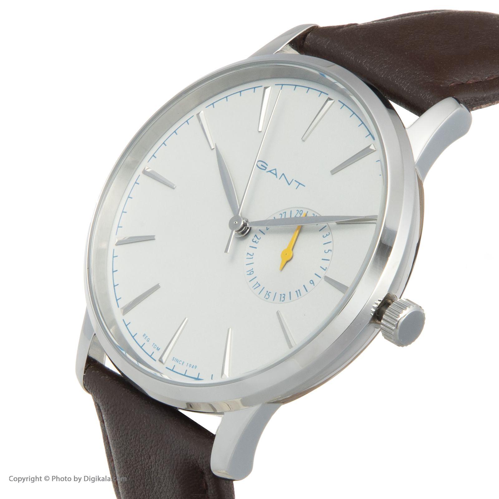 ساعت مچی عقربه ای مردانه گنت مدل GWW048006 -  - 4