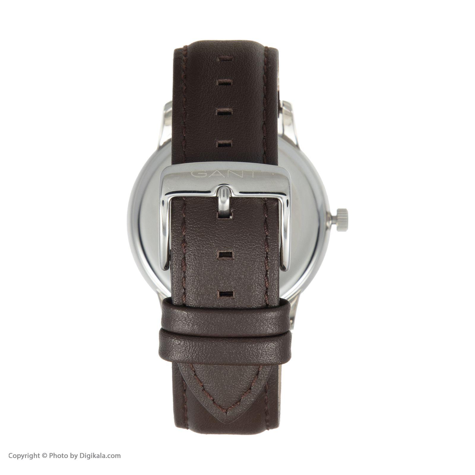 ساعت مچی عقربه ای مردانه گنت مدل GWW048006 -  - 5