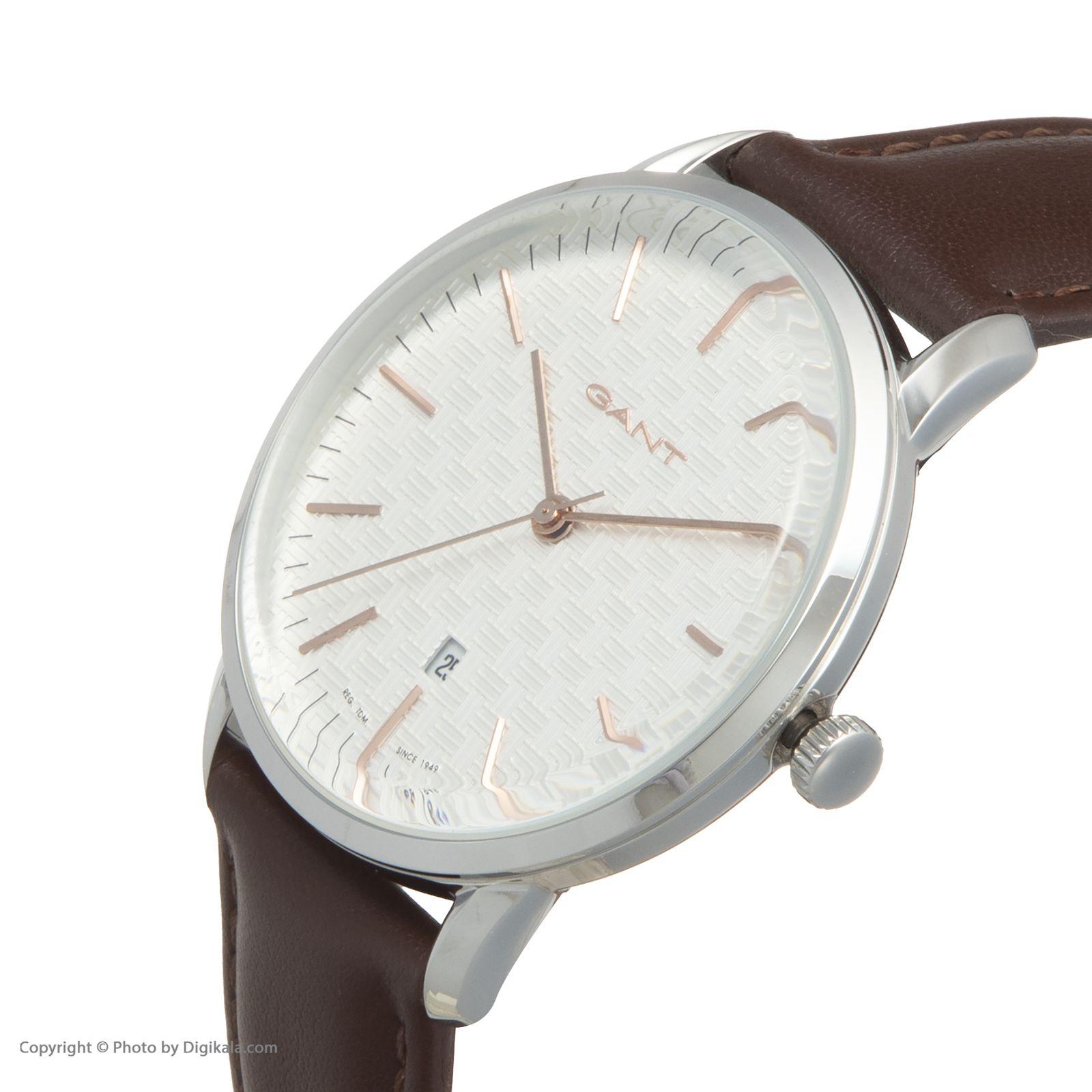 ساعت مچی عقربه ای مردانه گنت مدل GWW077002 -  - 4