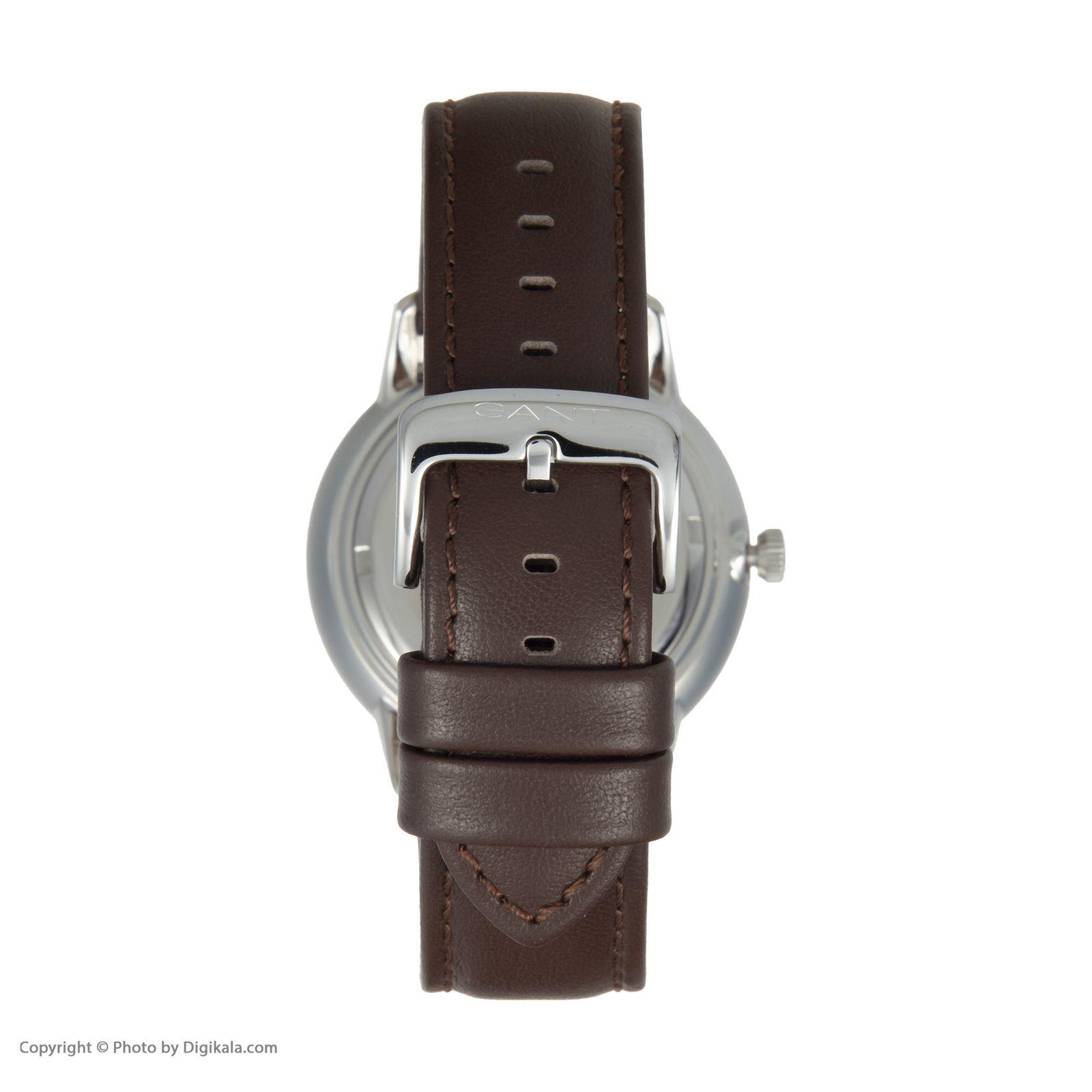 ساعت مچی عقربه ای مردانه گنت مدل GWW077002 -  - 5