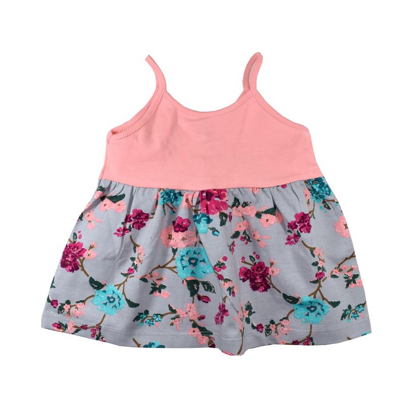 پیراهن نوزادی دخترانه نیروان کد 403 -1