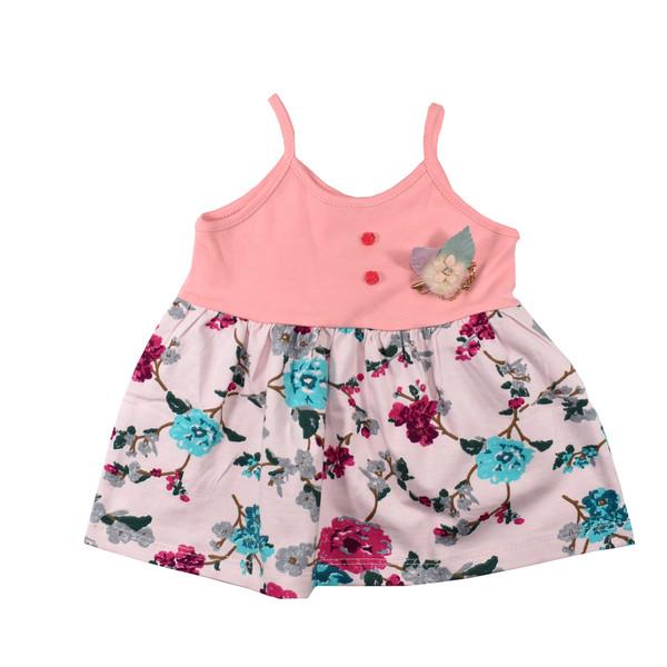 پیراهن نوزادی دخترانه نیروان کد 403 -2