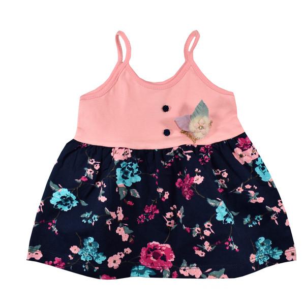 پیراهن نوزادی دخترانه نیروان کد 403 -3