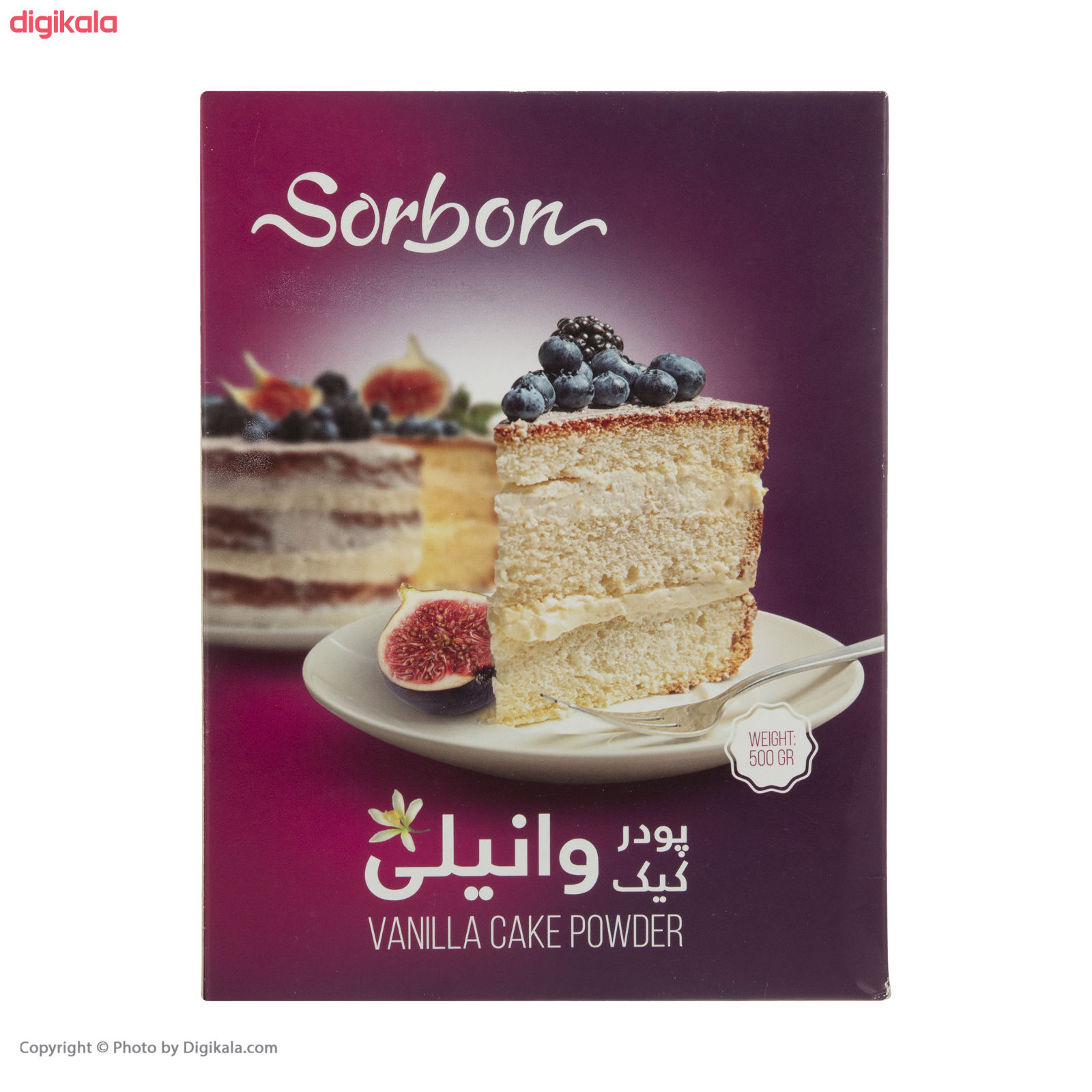 پودر کیک وانیلی سوربن - 500 گرم main 1 1
