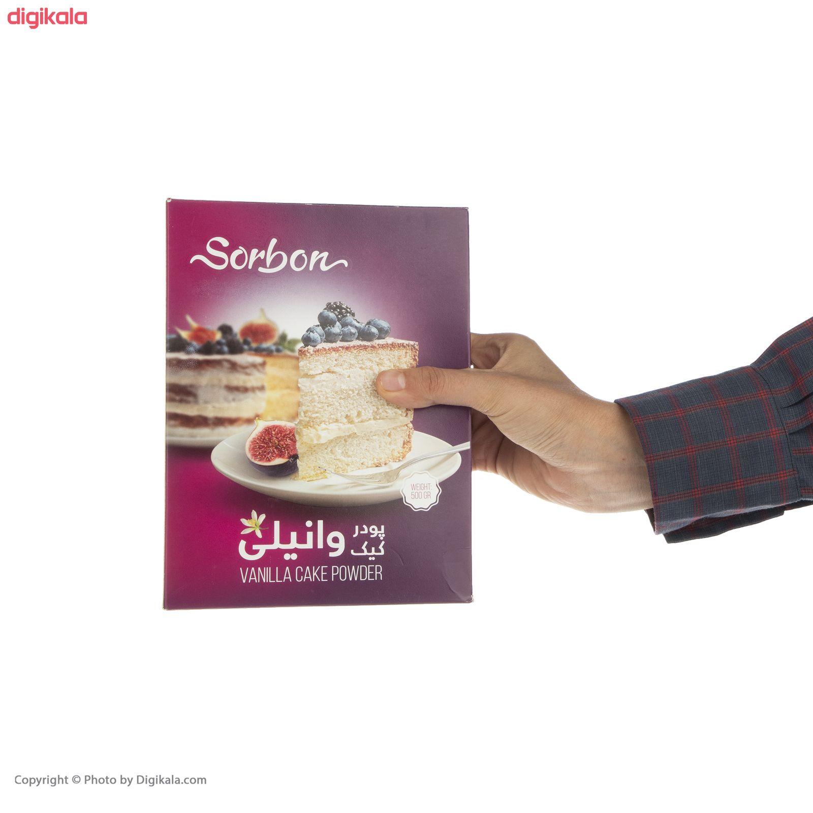 پودر کیک وانیلی سوربن - 500 گرم main 1 4