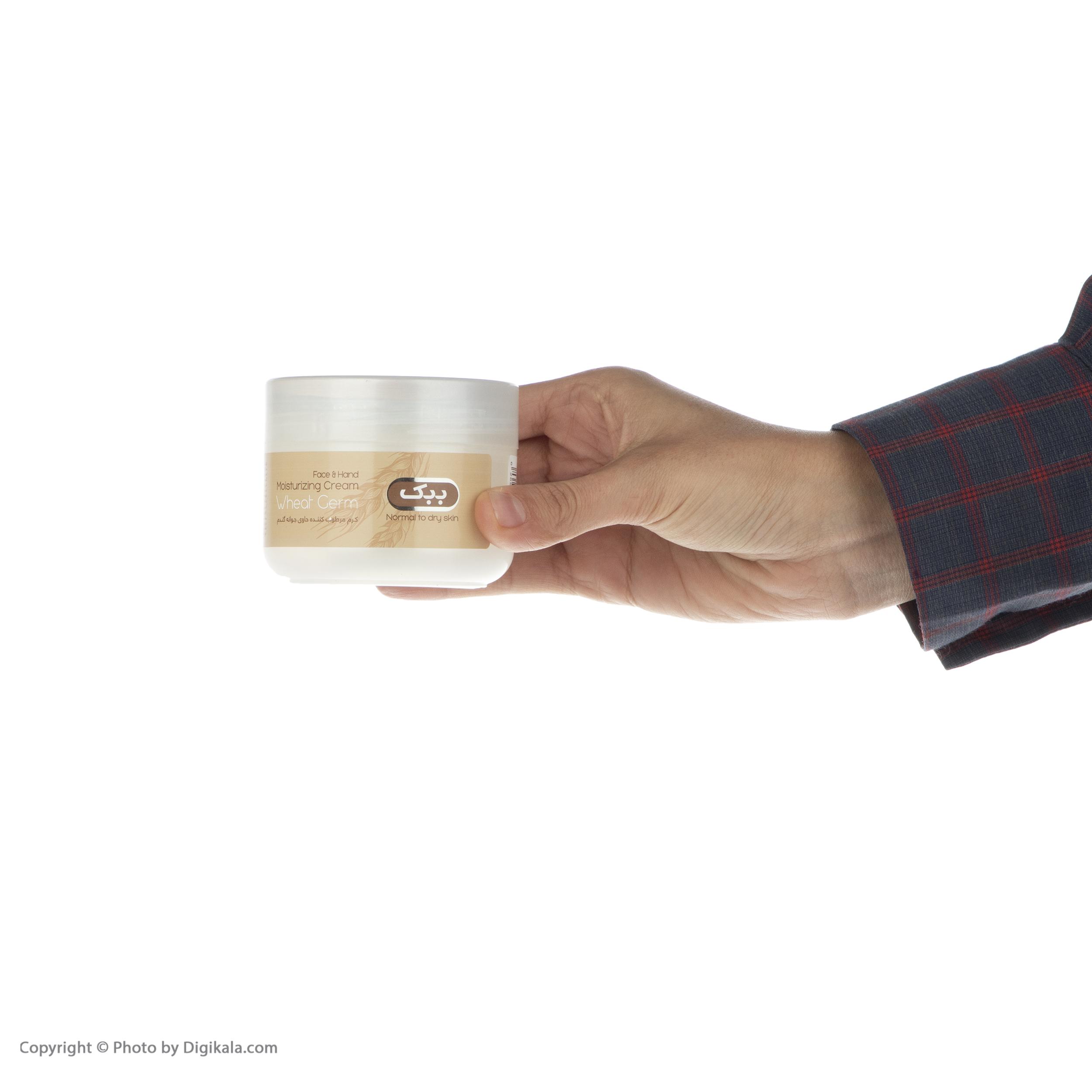 کرم مرطوب کننده ببک مدل Wheat Germ حجم 100 میلی لیتر