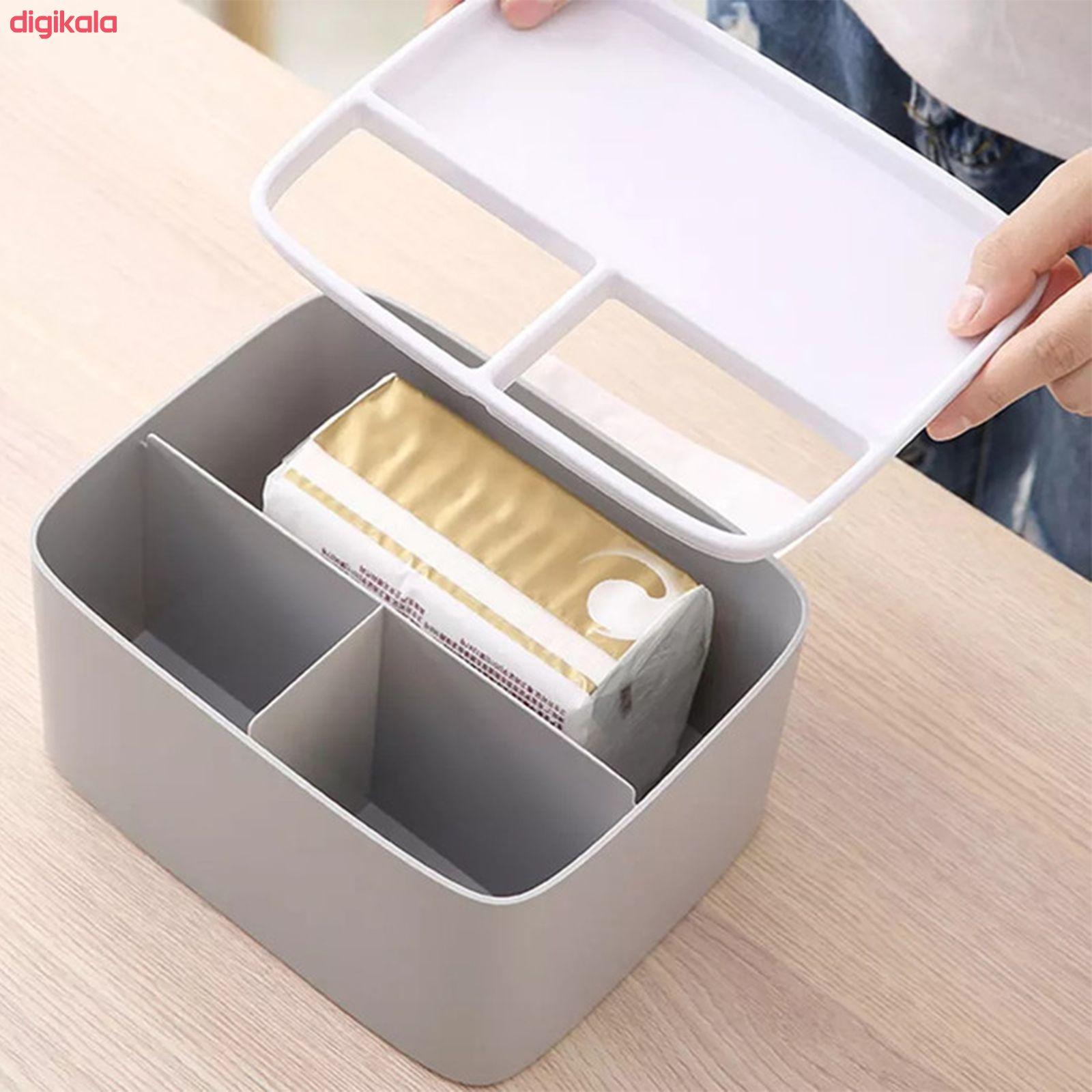 جعبه دستمال کاغذی مدل D110 main 1 3