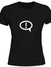 تی شرت زنانه 27 کد K03 رنگ مشکی -  - 1