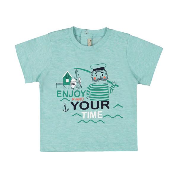 تی شرت نوزادی پسرانه پیانو مدل 5532-53