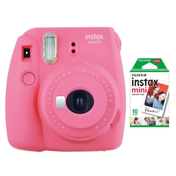 دوربین عکاسی چاپ سریع فوجی فیلم مدل Instax Mini 9 به همراه  فیلم مخصوص