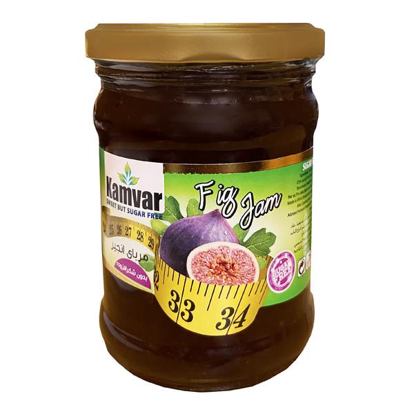 مربا انجیر بدون شکر کامور - 280 گرم
