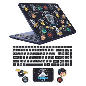 استیکر لپ تاپ کد sp-ace03 به همراه برچسب حروف فارسی کیبورد