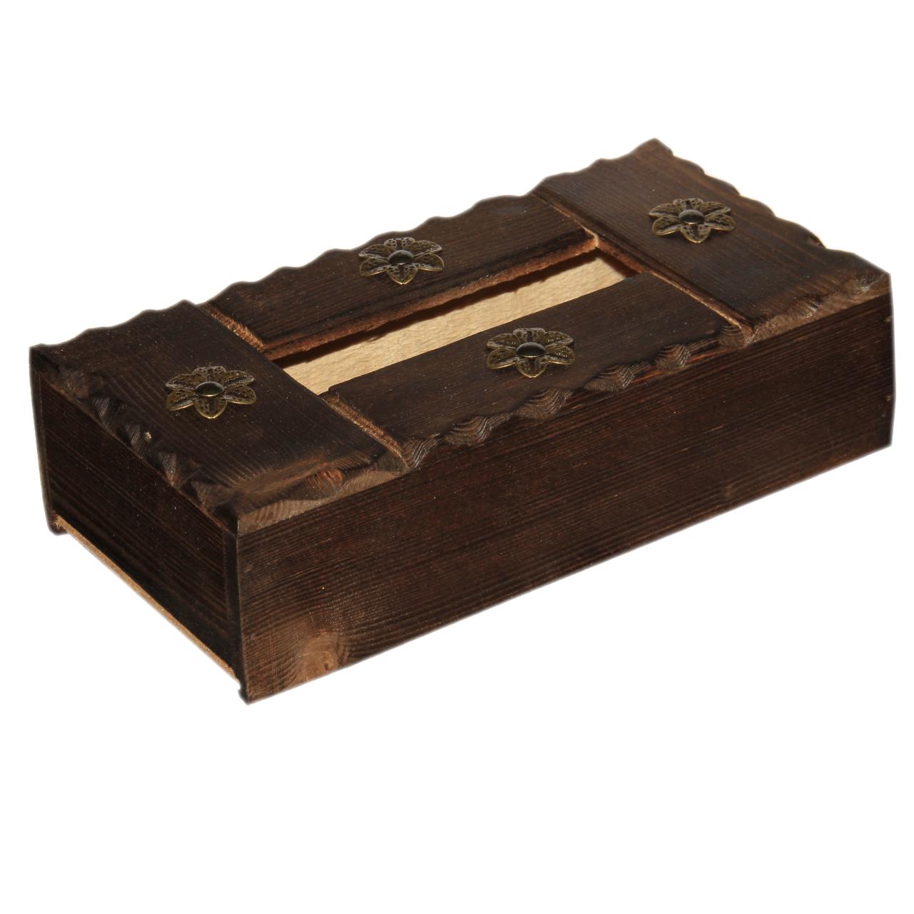 جعبه دستمال کاغذی مدل روستیک