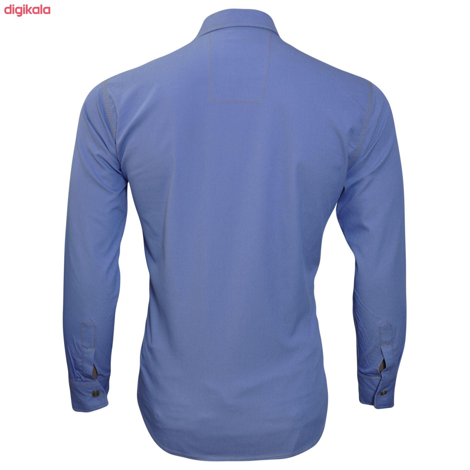 پیراهن مردانه مدل li59926 main 1 2