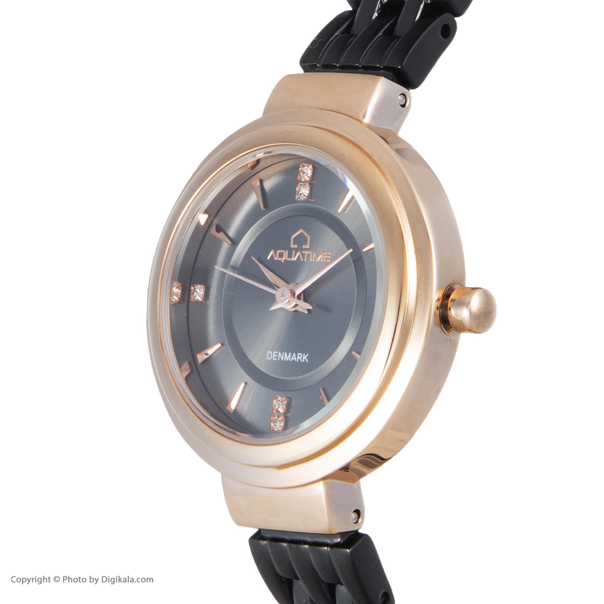 ساعت مچی عقربه ای زنانه آکوآ تایم مدل 30206-05              ارزان