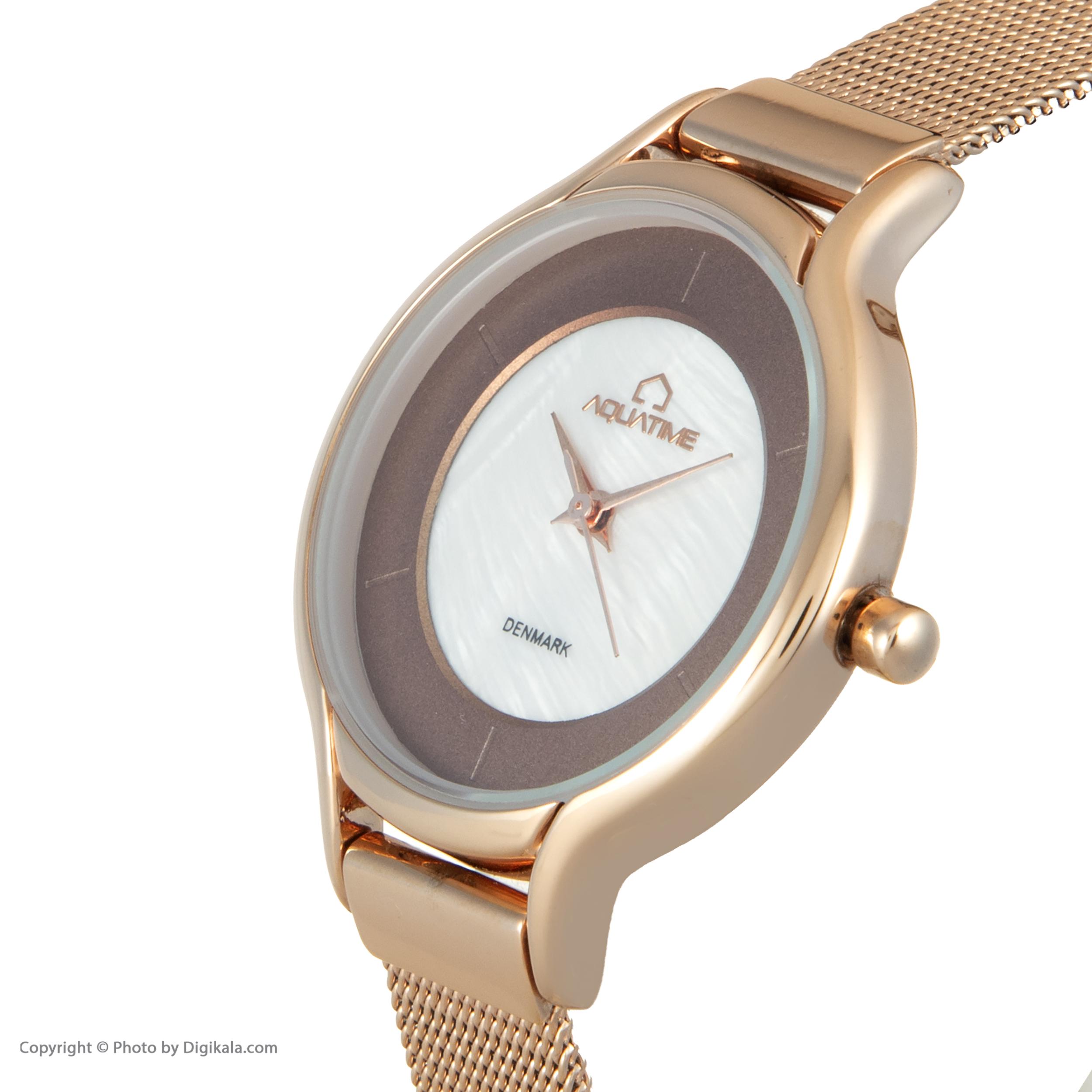 ساعت مچی عقربه ای زنانه آکوآ تایم مدل 30207-04              ارزان