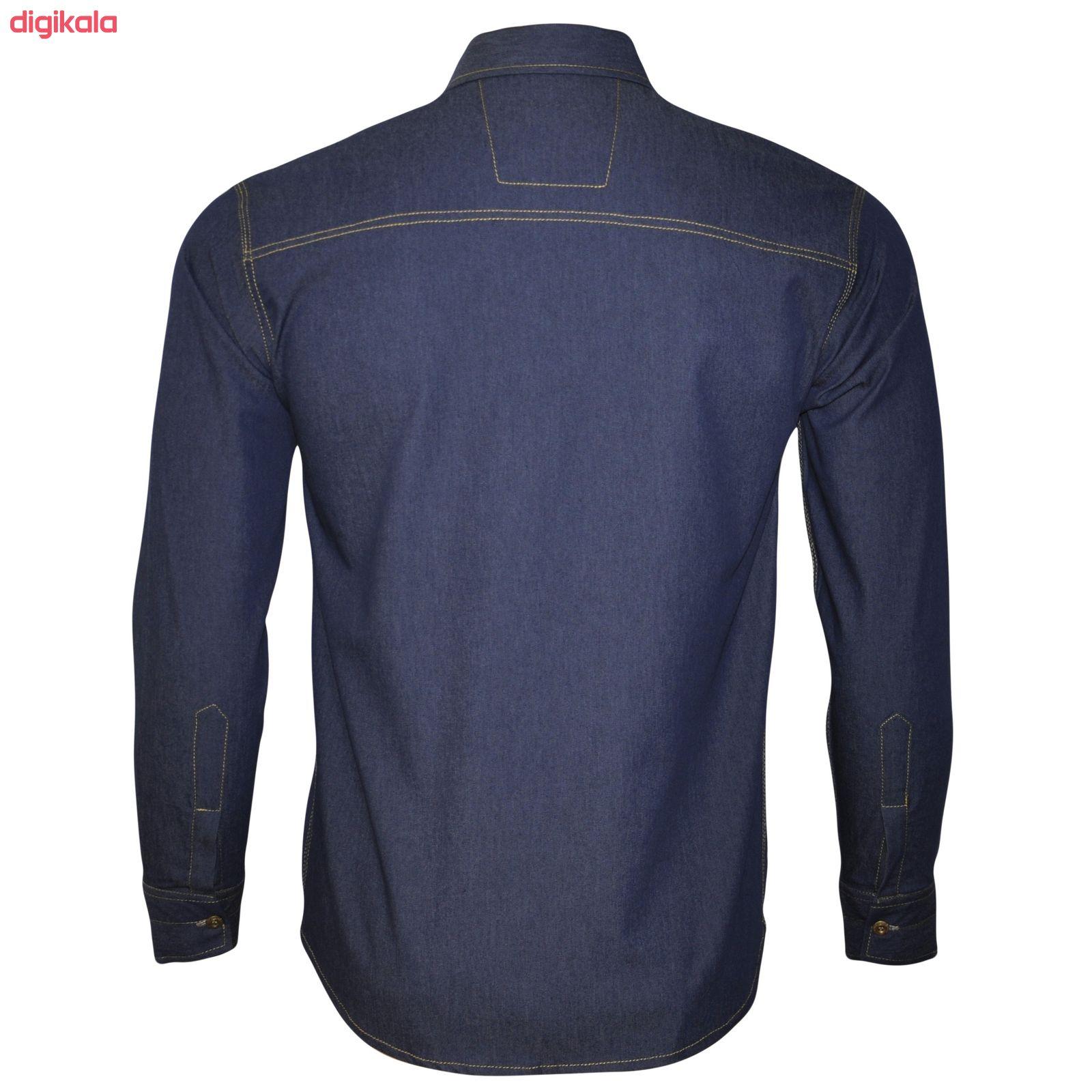 پیراهن مردانه مدل li59927 main 1 2
