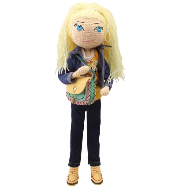 عروسک بافتنی پریا مدل Darya02