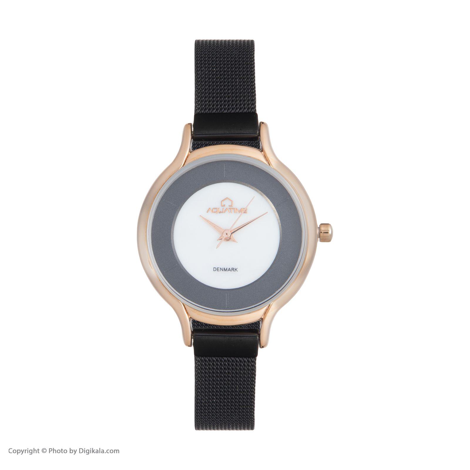 ساعت مچی عقربه ای زنانه آکوآ تایم مدل 30207-05