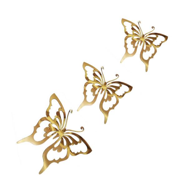 ست سه تکه رومیزی مدل پروانه
